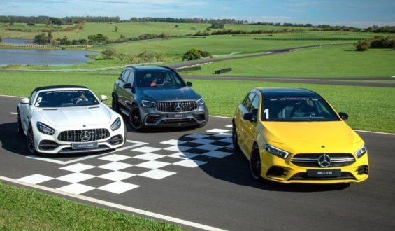 Mercedes-AMG aumenta artilharia esportiva com A 35, GT C e GLC 63