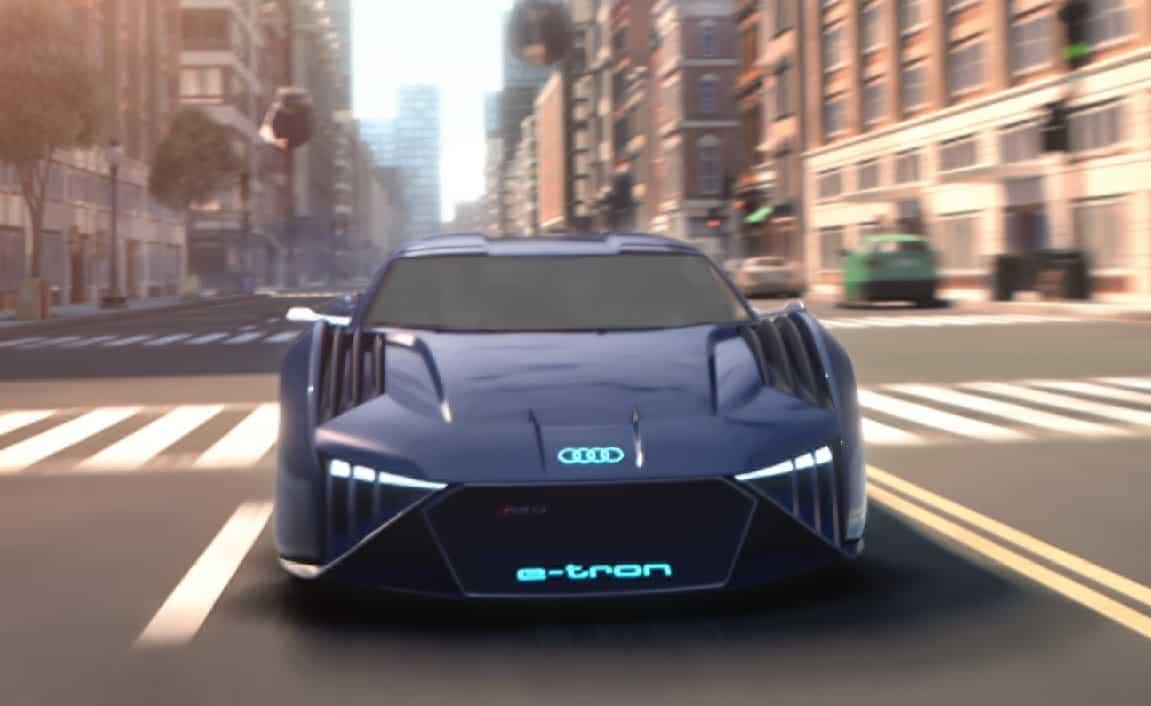 Audi RSQ e-tron cinema