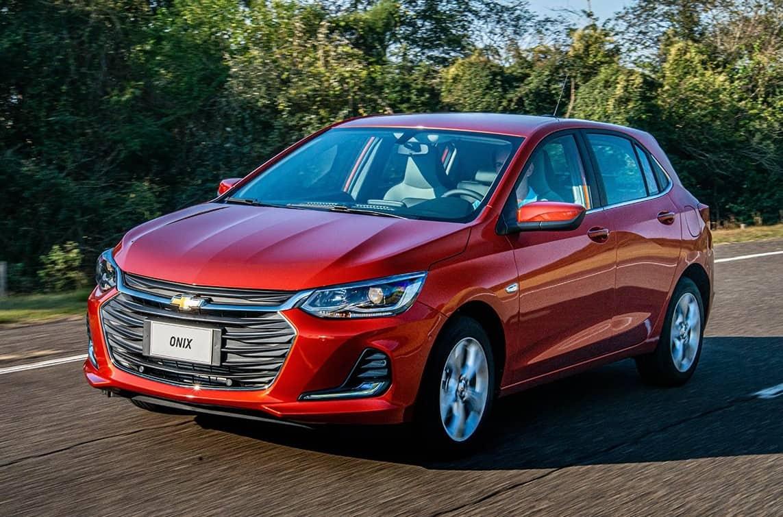 Chevrolet Onix hatch nova geração