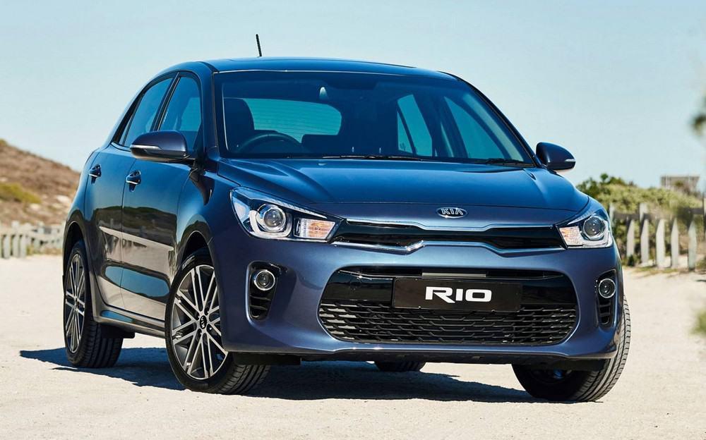 Kia Rio hatch preços