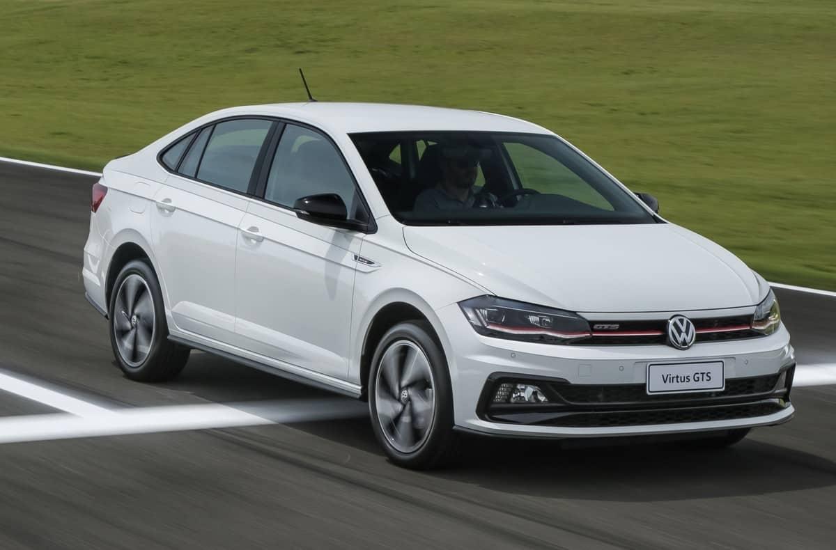 Volkswagen Virtus GTS sedã esportivo