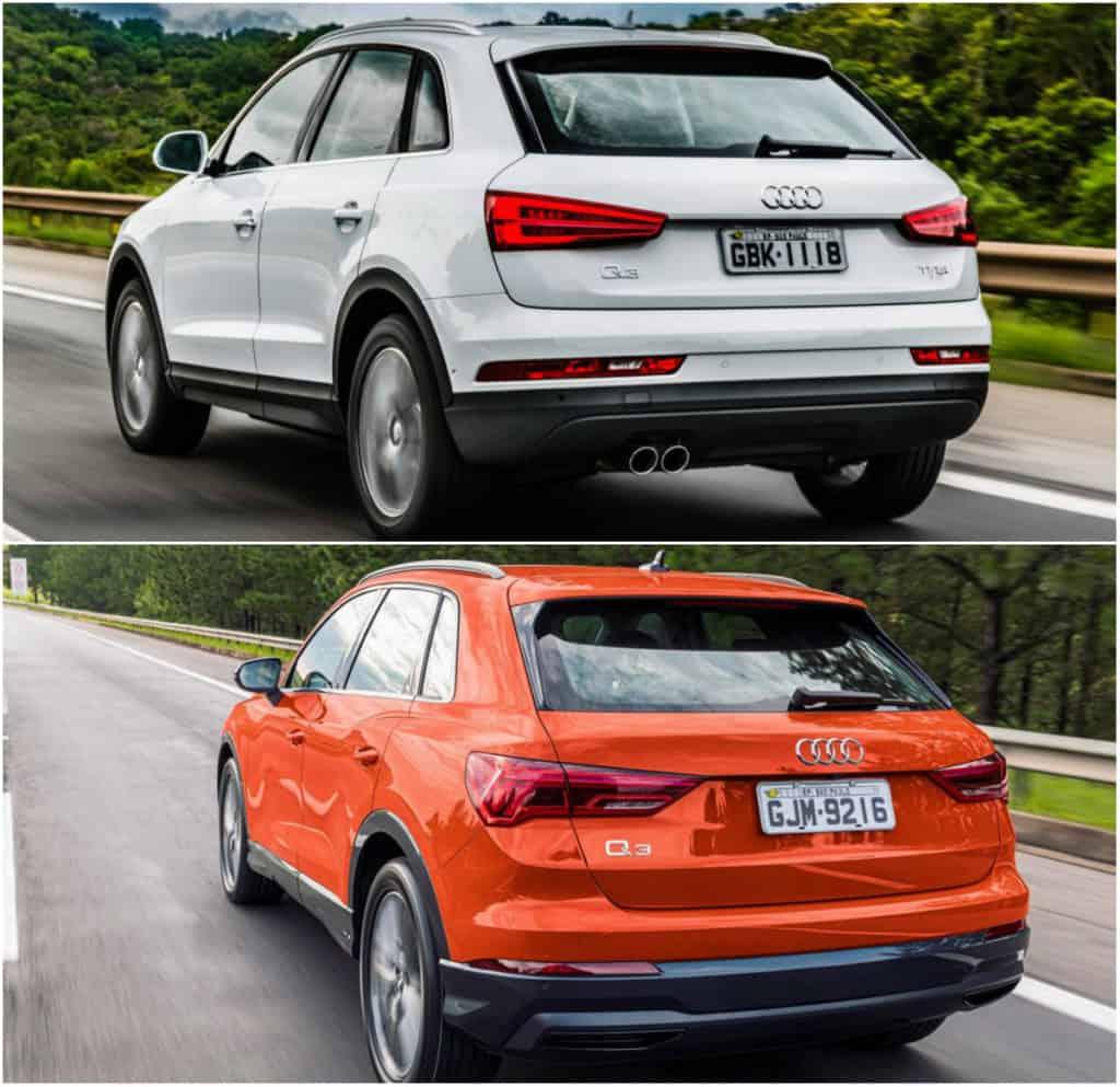 Audi Q3 diferença gerações
