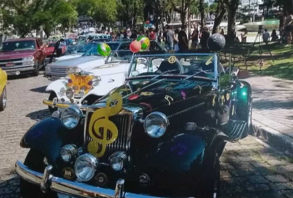 Corso carnaval desfile carros antigos