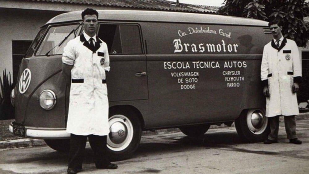 Volkswagen Kombi Brasil CKD Brasmotor
