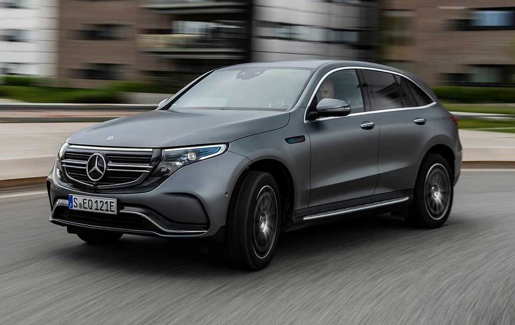 Mercedes-Benz EQC carro elétrico