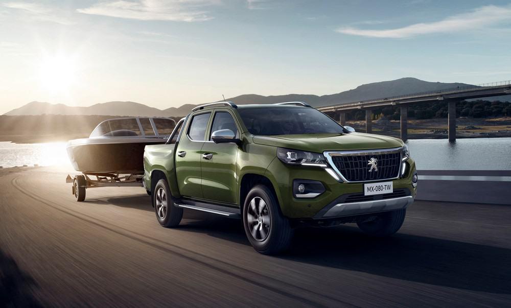 Peugeot Landtrek picape média no Brasil