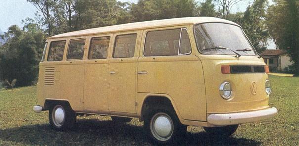 Volkswagen Kombi primeira atualização 1976