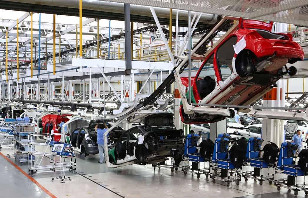 Fábrica Volkswagen produção no Paraná