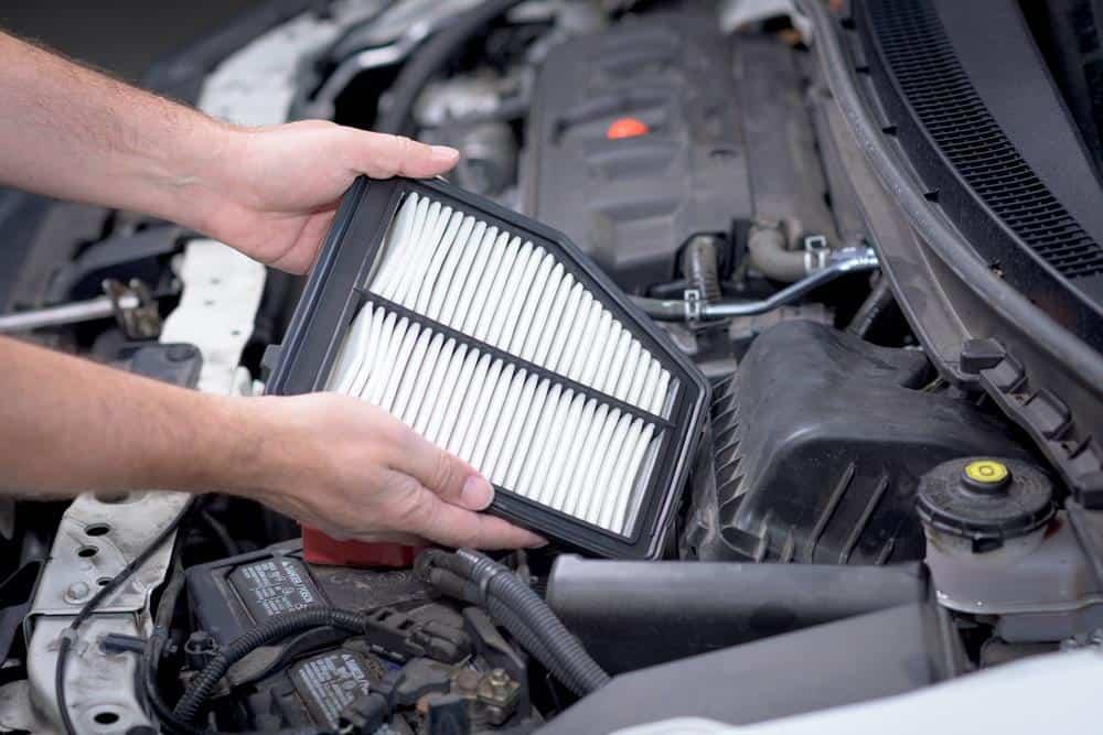 Filtro do ar-condicionado carro