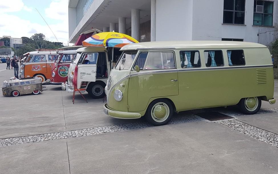 Volkswagen Kombi Dia Mundial em Curitiba