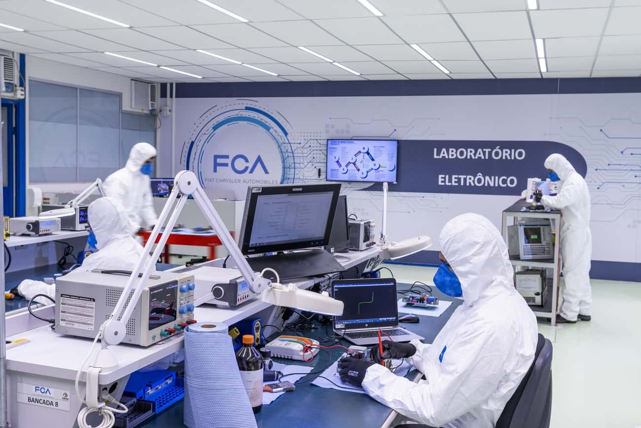 FCA conserta ventiladores pulmonares