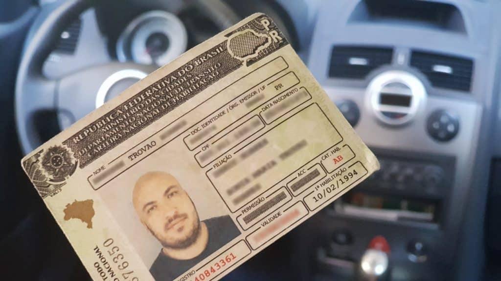 CNH carteira de motorista renovação