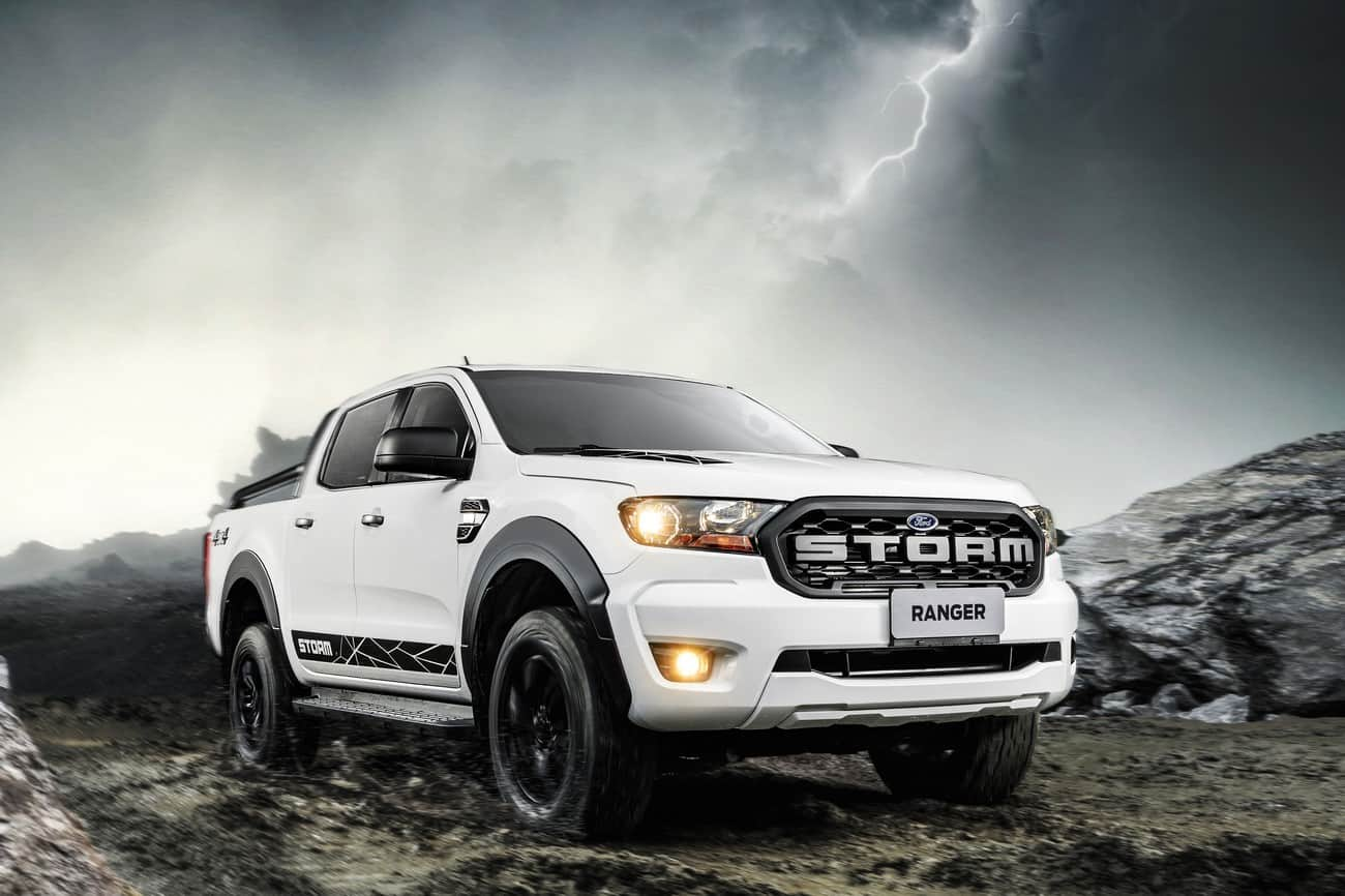 Ford Ranger Storm estribos laterais