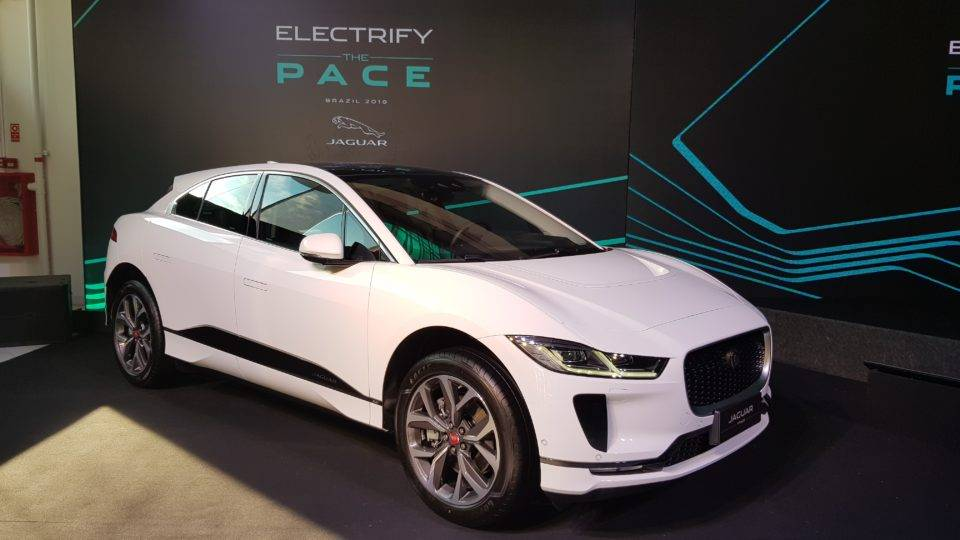 Jaguar I-Pace SUV elétrico