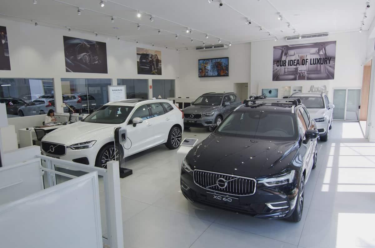 Volvo Car Brasil loja