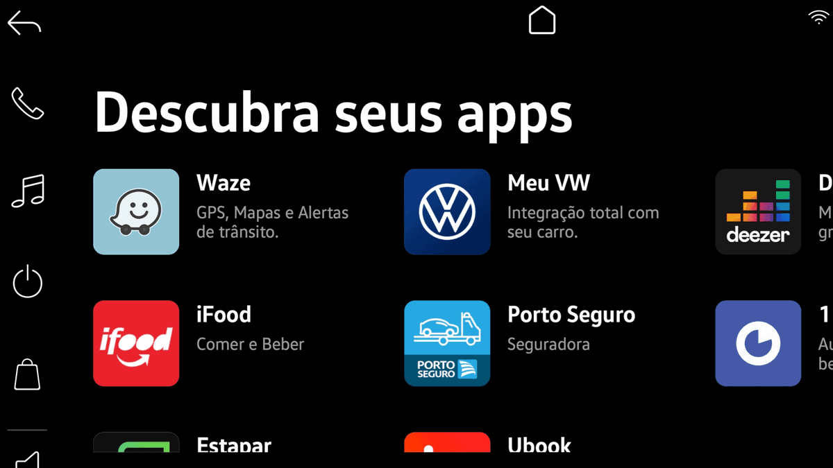 Multimídia VW Play do Nivus terá compras online e uso de internet do celular