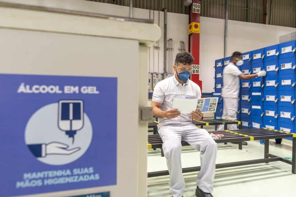 Fiat fábrica Betim coronavírus