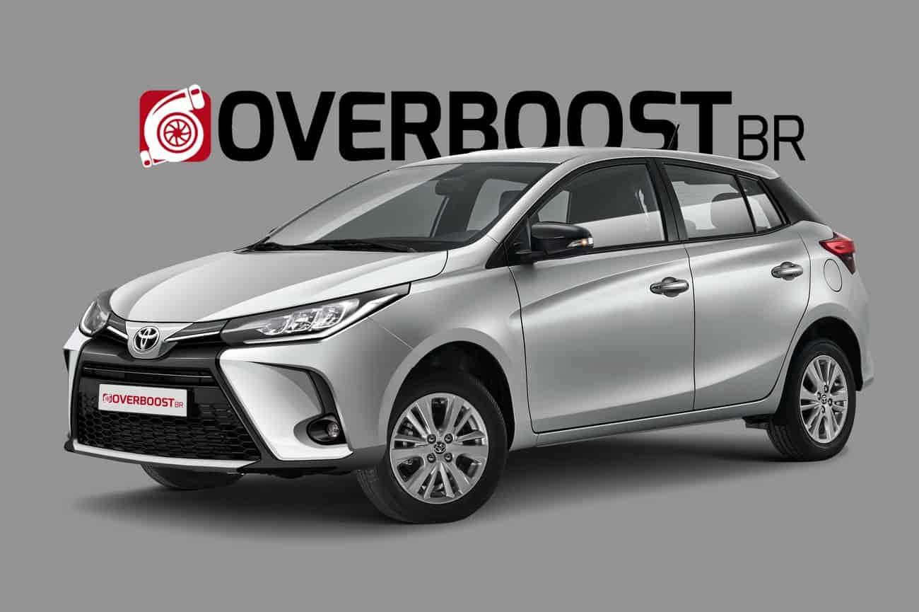 Toyota Yaris muda em 2021, mas ainda distante do vendido na Europa