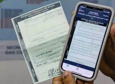 Emissão do certificado digital do carro pode ser feita sem sair de casa