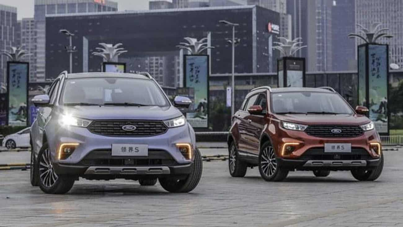 Ford Territory ganha atualização na China