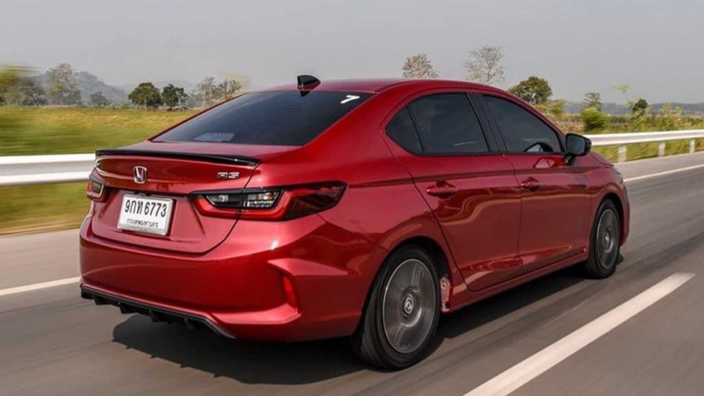 Nova geração do City sedã exibe a nova linguagem visual da Honda