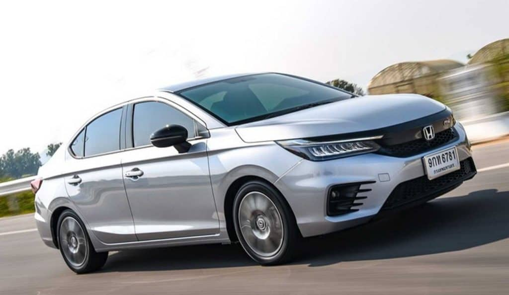 Nova geração do Honda City sedã exibe a nova linguagem visual da Honda