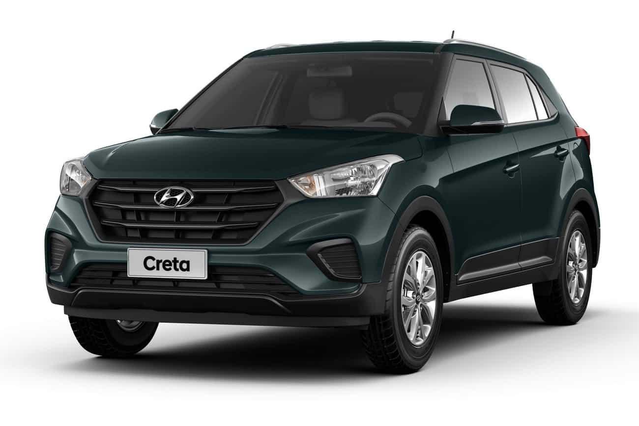 Hyundai lança a linha 2020/20 do Creta com a nova versão Action