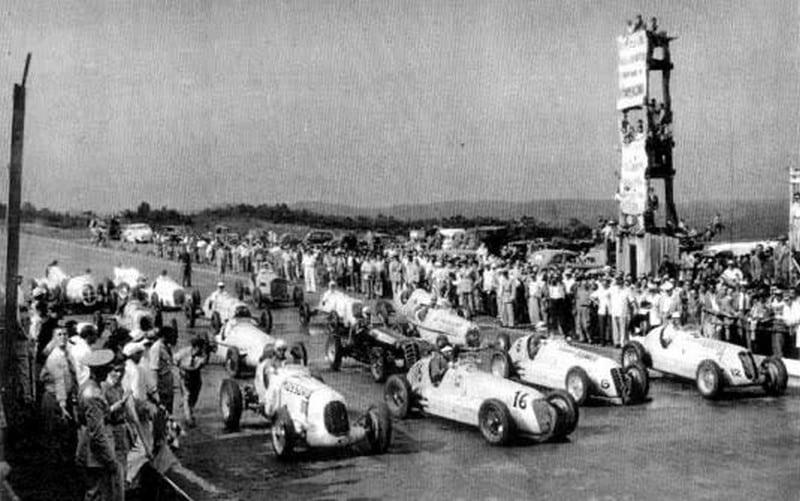 Primeira corrida em Interlagos