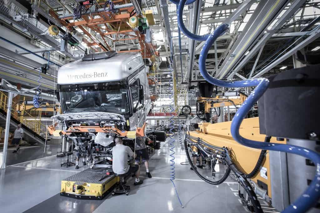 Fábrica Mercedes-Benz Caminhões
