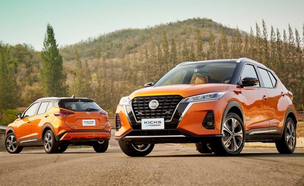 Novo Nissan Kicks estreia motor híbrido