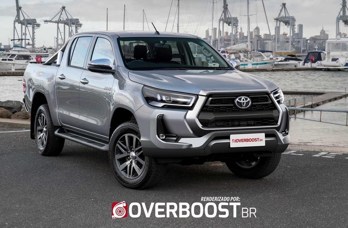 Essa é a nova Toyota Hilux! Picape fica mais potente e até freia sozinha