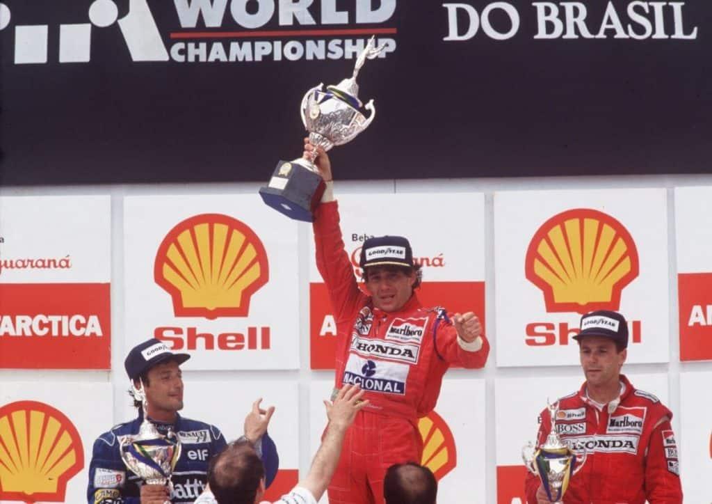 Ayrton Senna GP de Interlagos 1991