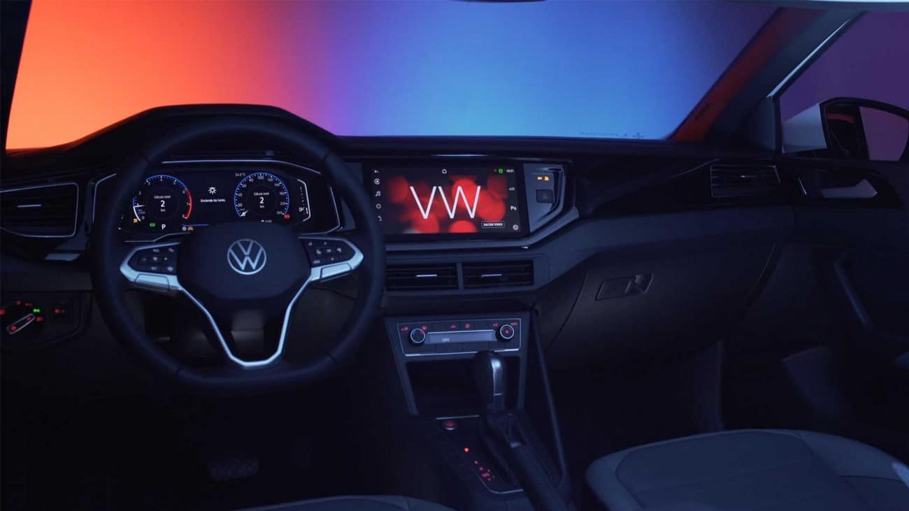 Volkswagen Nivus traz a exclusiva central multimídia VW Play