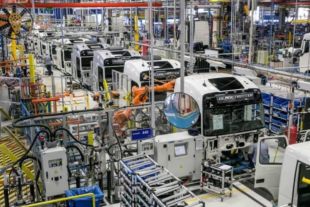 Fábrica Volvo Caminhões Curitiba
