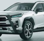 Toyota Corolla Cross surge em novo flagra e projeção antecipa visual