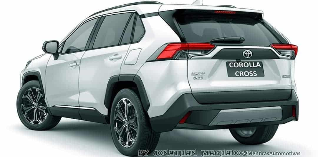 Toyota Corolla Cross projeção
