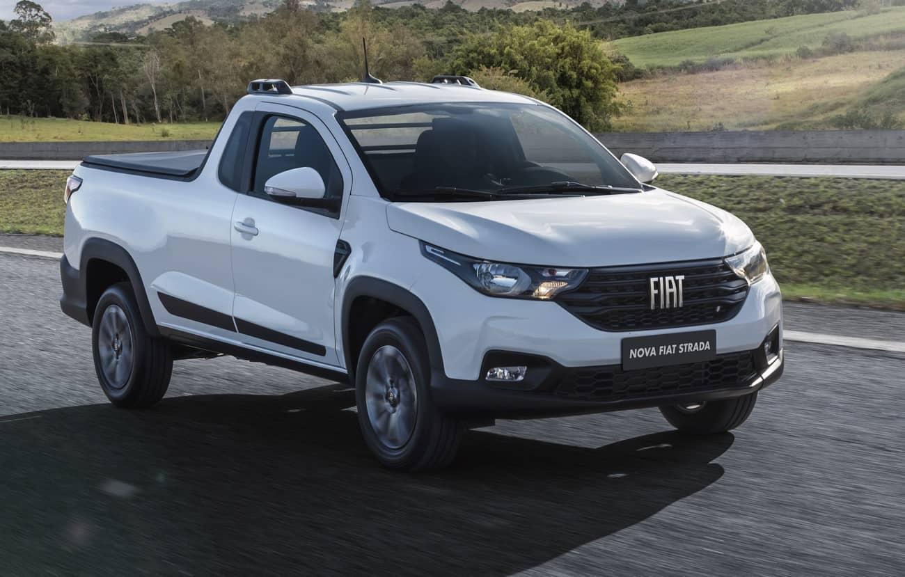 Fiat Strada Cabine Plus nova geração