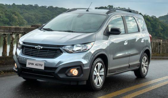 Chevrolet Spin 2021 ganha controle de estabilidade de série e detalhes visuais