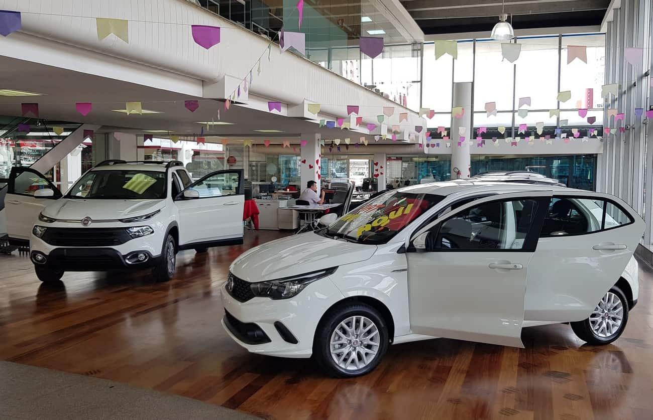 Fiat promove campanha Forza Online com descontos de até R$ 27 mil no carro zero km