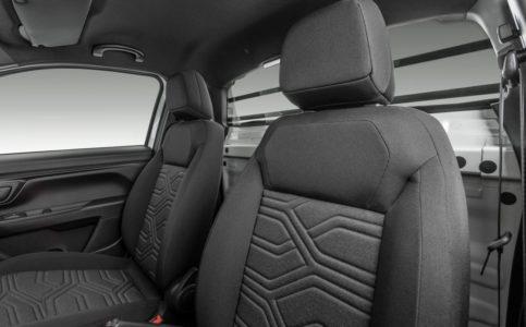 Fiat Strada Cabine Plus nova geração interior