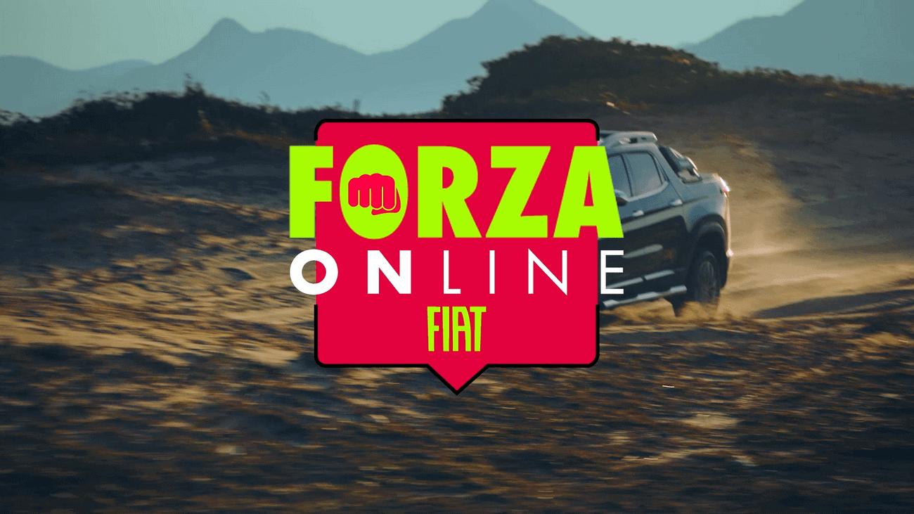 Publicidade da Forza Online Fiat