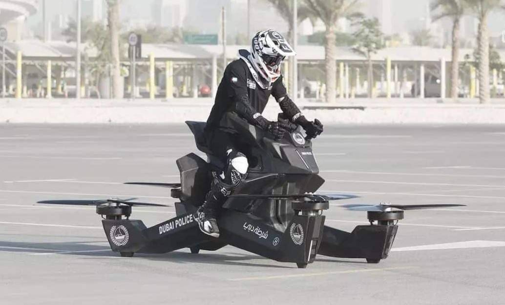 Hoversurf Scorpion 3 da polícia de Dubai