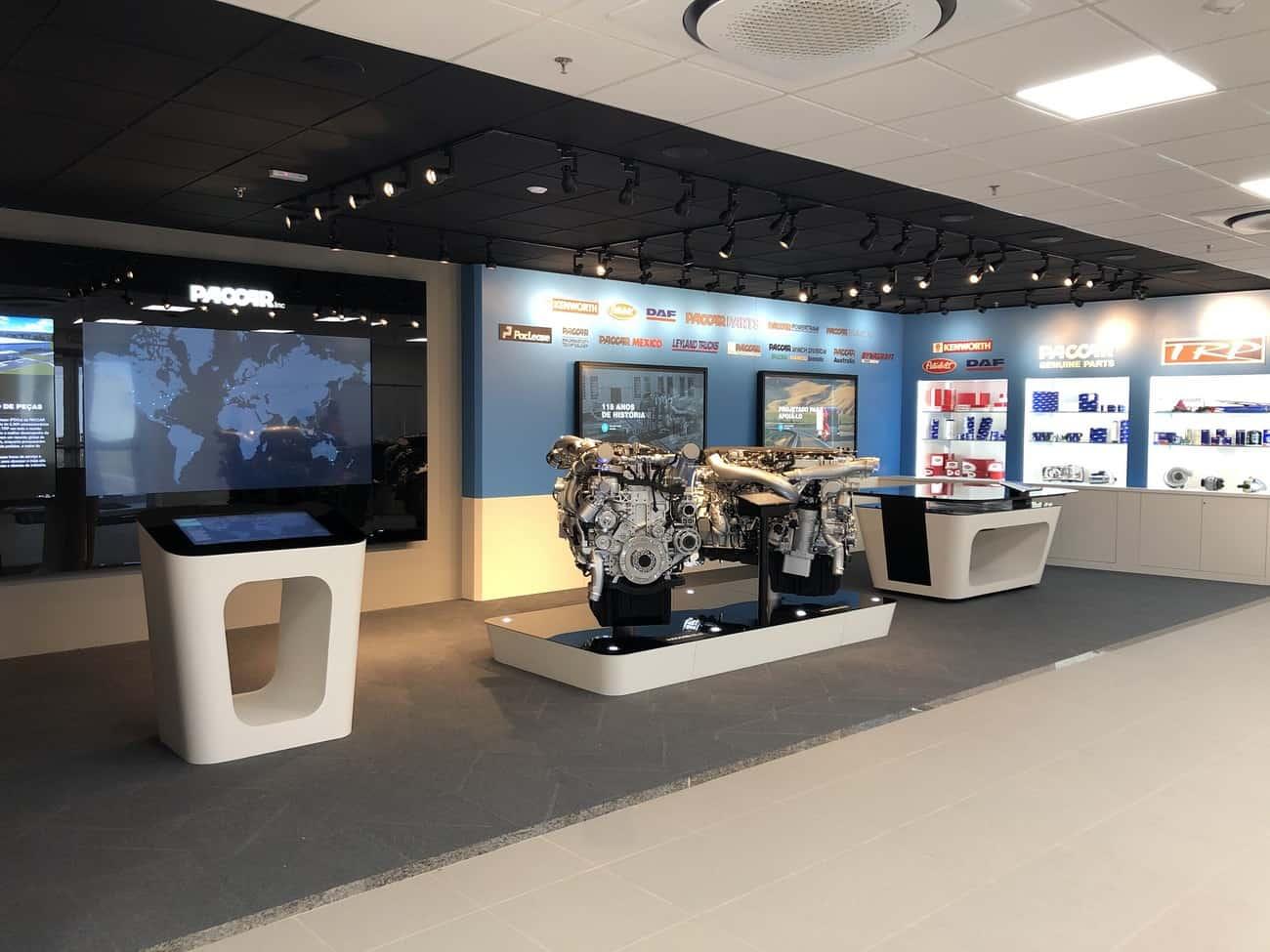 Novo centro de distribuição da Paccar Parts, em Ponta Grossa