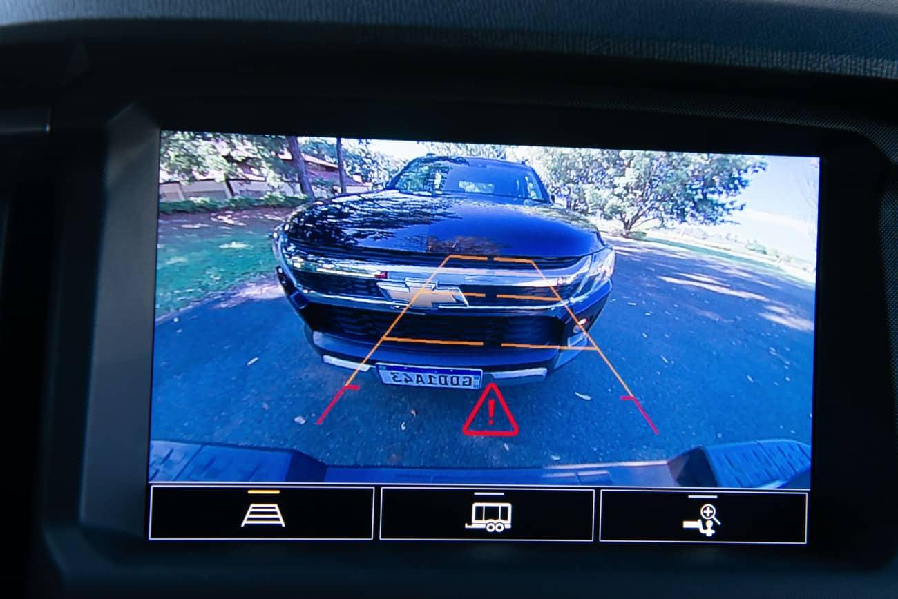 Chevrolet S10 2021 câmera de ré