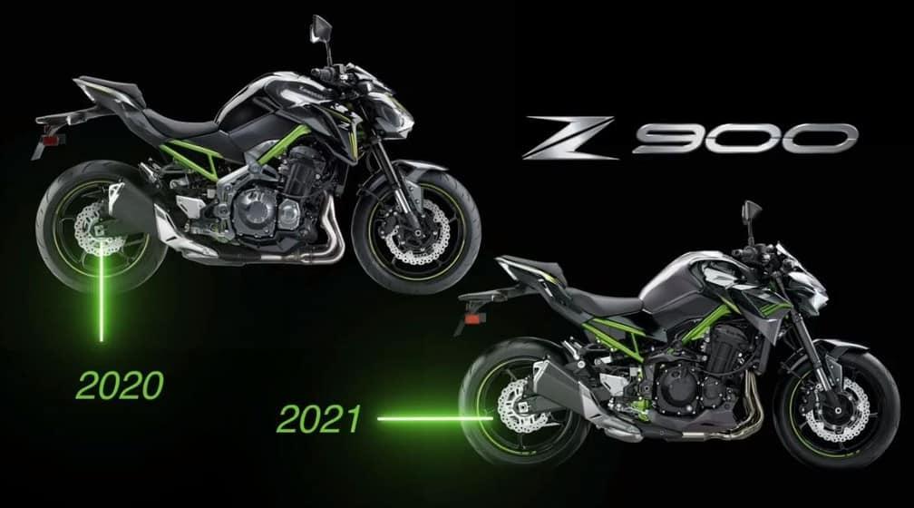 Kawasaki Z900 comparativo