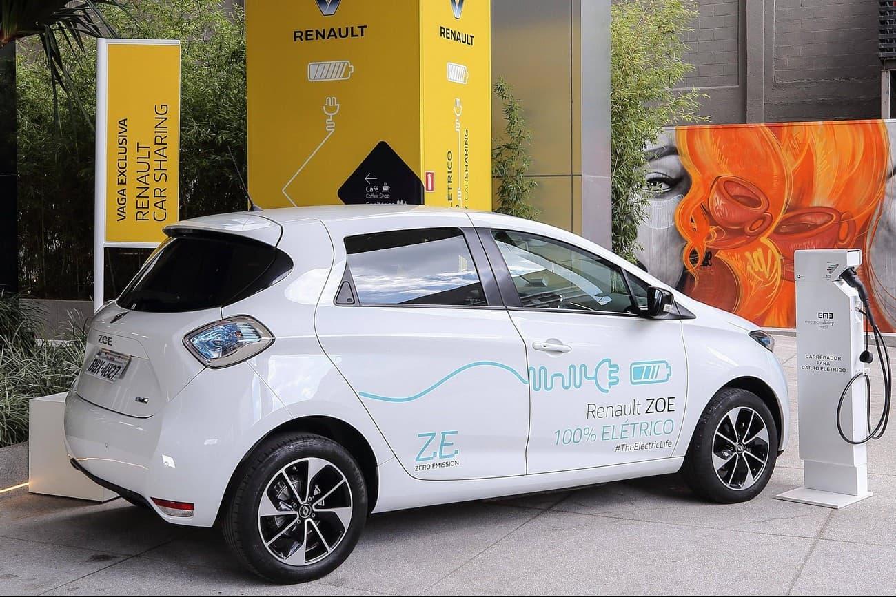 Renault Zoe carro elétrico