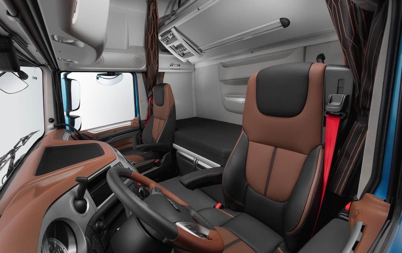 DAF XF extrapesado interior