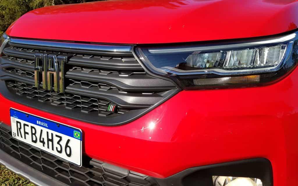 Fiat Strada nova geração grade