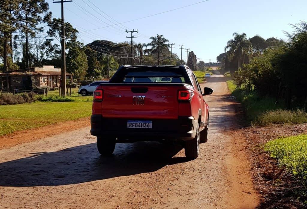 Fiat Strada nova geração traseira