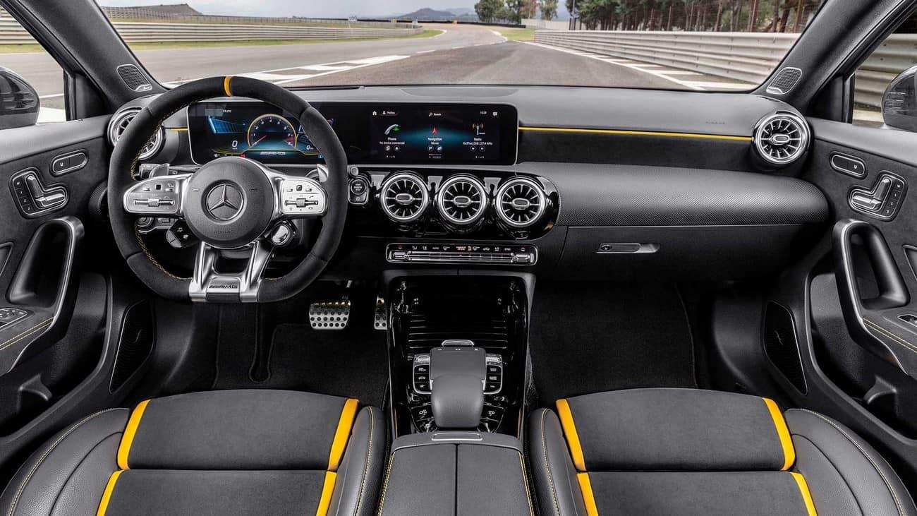Mercedes-AMG A S 45 interior